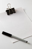 notepaper royaltyfria foton