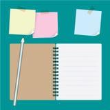 notepaper illustrazione vettoriale