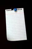 notepaper Стоковое Изображение