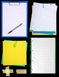 Notepaper Stock Photo