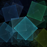 Notepaper fractal Royalty Free Stock Photography