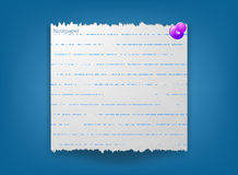 Notepaper Stock Images