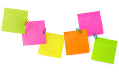 Notepaper postit Royalty Free Stock Photography