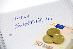 Shopping today Stock Photo