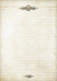 notepapersteampunk Royaltyfria Foton