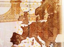 Europa på tio euros Arkivbild