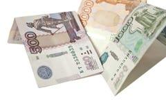 Noterar valuta Arkivfoton