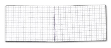 Notes. Isolated on white background Stock Photo