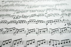 Notes. Note, note sheet, score, music royalty free stock photos