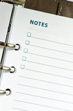Notes Royalty Free Stock Image
