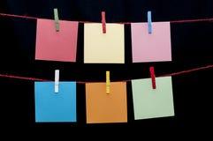 notes Photos libres de droits
