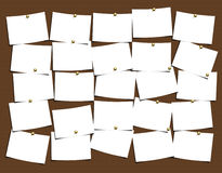Notes Board. For easy use and populate with your thoughts Stock Photo