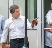 Notes Bulgarian President Rosen Plevneliev Festival Rozhen Stock Images
