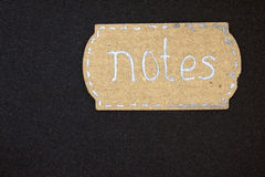 Notes Stock Image