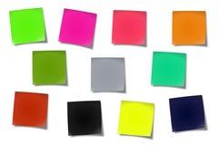 Notes collantes #02 Photo stock