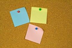Notes collantes Images libres de droits