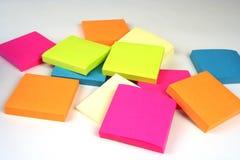 Notes collantes Image stock