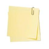Notes, collants photographie stock libre de droits
