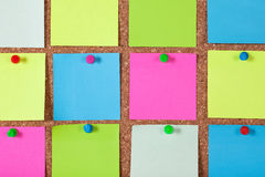 Notes on Corkboard Stock Images