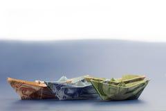 Notes d'argent de Moyen-Orient Photo stock