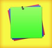 notes de couleur Images libres de droits