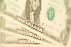 Notes de dollar US images stock