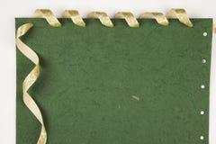 Notes de Livre vert Image libre de droits