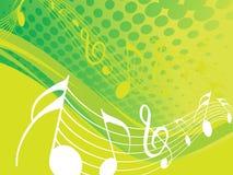 Notes de musique Images libres de droits