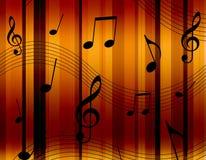 Notes de musique Photo libre de droits