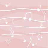 Notes de musique Photos libres de droits