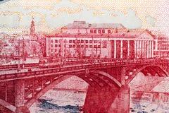 Notes de papier biélorusses Photos stock