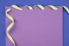 Notes de papier colorées Image stock