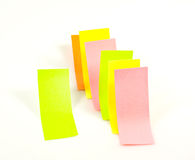 Notes de post-it Images libres de droits
