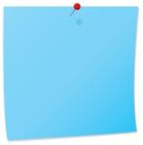 Notes de tableau d'affichage Image stock