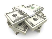 Notes du dollar illustration de vecteur
