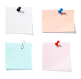 Notes group 2 Royalty Free Stock Images