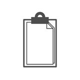 Notes icon. Outline notes icon , illustration for web design etc vector illustration