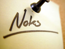 Notes ... II Royalty Free Stock Photos
