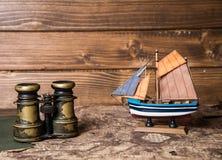Notes for marine adventurer Stock Image