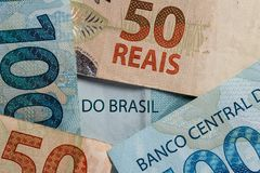 Free Notes Of Real, Brazilian Currency. Money From Brazil. Royalty Free Stock Image - 117184436