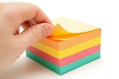 Notes paper Royalty Free Stock Photos