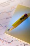Notes and pen stock photos
