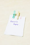 Notes, Recycle Paper Royalty Free Stock Images