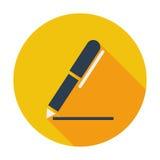 Notes single icon. Royalty Free Stock Image