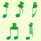Notes by a St. Patrick's Day Stock Image
