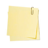 Notes , stickers Royalty Free Stock Photography