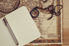 Notes in travel Stock Photo