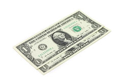 Notes un dollar US Photographie stock libre de droits