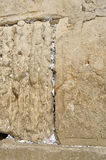 Notes in the Western Wall Stock Photography