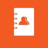 Notez l'illustration simple d'icône Photo stock